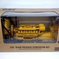 Diecast Generator Set Cat 3516 Miniatur alat berat GENSET