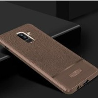 Case Samsung J8 2018 softcase casing hp cover anti shock LEATH Limited
