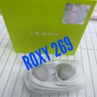 HF Headset Earphone HP OPPO ORIGINAL SEMUA TIPE Handfree H Berkualitas