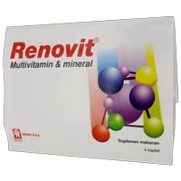 RENOVIT Multivitamin & Mineral Strip 4 Kandungan Lengkap untuk Sehat