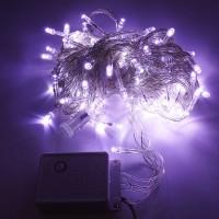 Lampu Hias Natal LED 10M Putih
