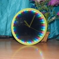 jam dinding lorong waktu / jam 3 dimensi / jam unik murah / davart