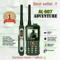 hp aldo al 007 / handphone outdoor HT handy talky bisa buat PB