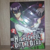 Komik : Highschool of The Dead Vol 2 BY Daisuke Sato ( New )