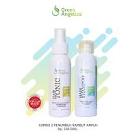 Obat Anti Rontok - Green Angelica Combo 2 - Penumbuh Rambut Cepat