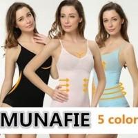Best Seller Camisol Atasan Tank Top Korset Baju Cami Munafie Slim
