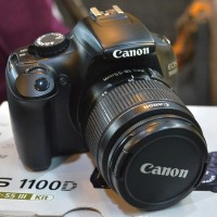 Kamera Canon Eos 1100D Kit 18-55MM IS STM