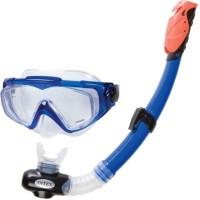 Kaca Mata Snorkel Silicone Aqua Pro Swim Set - Intex 55962