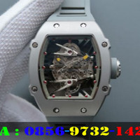 Richard Mille RM027 Swiss Clone 1:1 Dial Gray Rubber Strap
