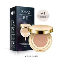Bedak Cair BB Gold Cushion Bioaqua / BB Cushion Cream + Refill