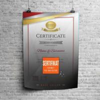 Harga Template Sertifikat Hargano.com