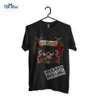Guns and Roses - 3D Skull Kaos Band Original Gildan