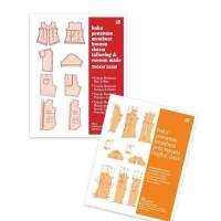 Paket 2 Buku Tailoring dan Pola Busana Tingkat DASAR oleh Soekarno