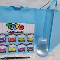 TAS SPUNBOND NK TAYO Goodie bag ulang tahun anak Goody Souvenir MURAH