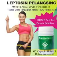 Obat Pelangsing Herbal Leptosin Termurah Di Tokopedia