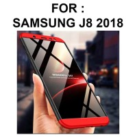 Case Samsung J8 2018 casing hp ultra thin full cover HARDCASE 360