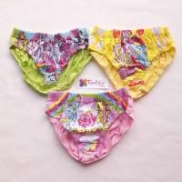 Celana Dalam Anak Perempuan / cewe karakter size 3 - 4 tahun