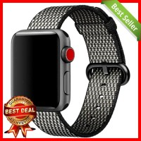 Tali Jam Tangan Nylon Apple Watch Series 1/2/3 - 42mm - Black White