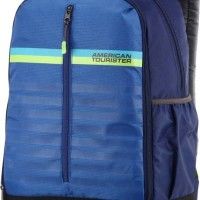 Tas Original American Tourister Backpack 02 - Blue Berkualitas