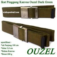 Sabuk Kanvas Simple Green ouzel