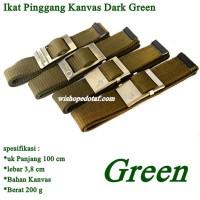 Sabuk Kanvas Simple Green