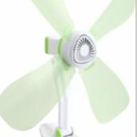 kipas angin jepit 4 baling jumbo daya 27w fan besar 27 watt
