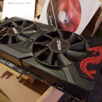 VGA AMD rx 470/rx470 4gb ddr5 power color red dragon termurah