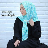 Hijab jilbab bergo kerudung scarf pashmina Khimar instan Shinta