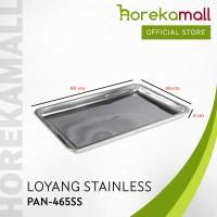 loyang stainless 60x40 tinggi 5 cm MUTU PAN-465SS