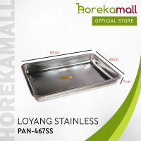 loyang stainless 60x40 tinggi 7 cm Mutu PAN-467SS