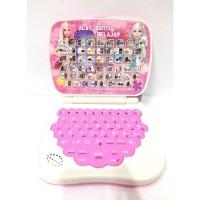 Putri Ayu Laptop Mainan Edukatif Anak Perempuan Warna Pink
