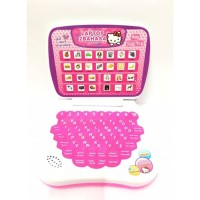 Hello Kitty Laptop Mainan Edukatif Anak Perempuan Warna Pink