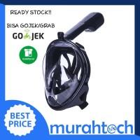 Snorkel Full Face / Snorkeling Full Face / Diving Mask Easy Breath