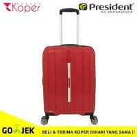 Koper President Original Kabin 20 Inch Expander Anti Theft 5293 Red