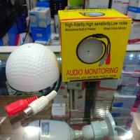 mic bulat cctv microphone