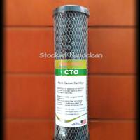 Cartridge water filter CTO kolon(karbon aktif)