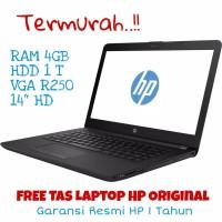 Laptop HP 14-BS001TX Black - Intel Core i3 - 4GB/1TB Notebook murah
