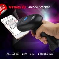 Barcode Scanner 1d 2d qr Bluetooth support ke android smartphone