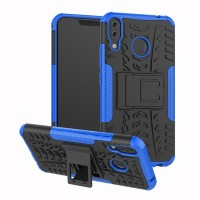 Asus Zenfone 5z ZS620KL Rugged Armor hard soft case hp with kick stand