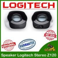 Speaker Komputer Laptop Z120 Logitech Stereo Speaker Original Ber G