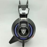 Headset Gaming Rexus F35 Mic Led Light + Vibration
