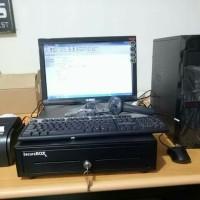 komputer kasir untuk toko atk & seragam sekolah