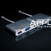 Macbook Pro Touchbar 2016 USB C to VGA & USB Converter