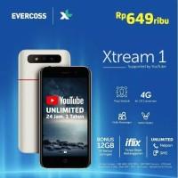 EVERCOSS EVERCROSS XTREAM 1 HP 4G LTE 1G/8GB