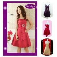 Baju gaun Pesta midi mini dress gown dress Bridesmaid impor korea