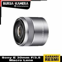 SONY LENSA E 30mm F/3.5 Macro Lens