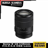 SONY LENSA E 18-135mm F/3.5-5.6 OSS Lens