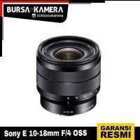 SONY CAMERA E 10-18mm F/4 OSS