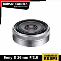 SONY LENSA E 16mm F/2.8