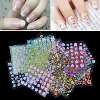 3D nail stickers / stiker kuku 3 dimensi